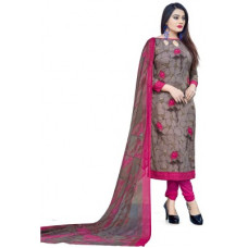 Deals, Discounts & Offers on Women - Giftsnfriends Crepe Floral Print Salwar Suit Material(Unstitched)