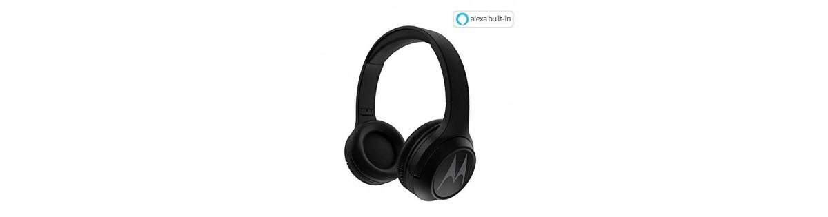Motorola Escape 210 Over Ear Bluetooth Headphones With Alexa Black Deals Offers Discounts Coupons Online Smartpricedeal Com