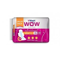 Deals, Discounts & Offers on Personal Care Appliances - VWash Wow UltraThin Sanitary Napkins - Extra Large (30 Count)