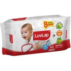 Deals, Discounts & Offers on Baby Care - LuvLap Paraben Free Baby Wet Wipes with Aloe Vera  (72 Wipes + 8 Wipes Free)(80 Pieces)