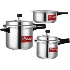 Deals, Discounts & Offers on Cookware - Prestige Popular 2 L, 3 L, 5 L Pressure Cooker(Aluminium)