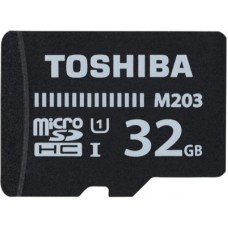 Deals, Discounts & Offers on Storage - Toshiba M203 32 GB MicroSD Card Class 10 100 MB/s Memory Card