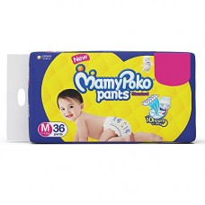 Deals, Discounts & Offers on  - Mamypoko Pants Standard Diapers, Medium (Pack Of 36)