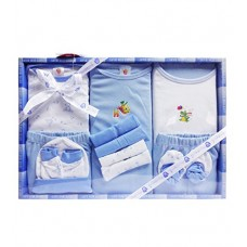 Deals, Discounts & Offers on  - Mini Berry 13 Piece Unisex Baby's Gift Set (Blue)