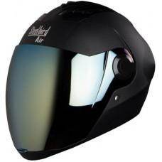 Deals, Discounts & Offers on  - Steelbird AIR SBA-2-Matt Motorbike Helmet(Black)