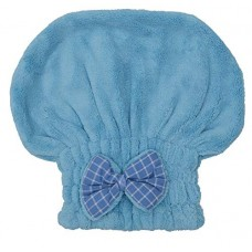 Deals, Discounts & Offers on  - Store2508 Microfiber Hair Drying Cap. Hair Towel, Hair Drying Wrap (BLUE)