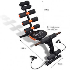 Deals, Discounts & Offers on  - YOZO Abs Exerciser/Six Pack 20 Different Mode For Exercise and Fitness Without Cycle Fat Blaster Machine For Home and Gym
