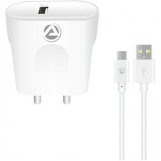 Deals, Discounts & Offers on Mobile Accessories - [Pre-Book] ARU ARQ-30 Quick charge 18 W Micro USB 2.1 A Mobile Charger with Detachable Cable(White, Cable Included)