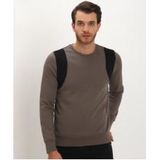 Deals, Discounts & Offers on Men - [Size L] BRAVESOULFull Sleeve Colorblock Men Sweatshirt