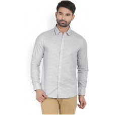 Deals, Discounts & Offers on Men - [Size XXL] United Colors of BenettonMen Self Design Casual Shirt