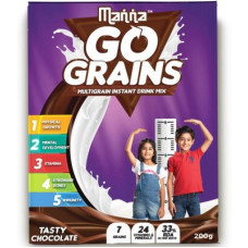 Deals, Discounts & Offers on Food and Health - Manna Go Grains Nutrition Drink 200 g