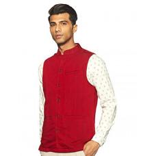 Deals, Discounts & Offers on  - [Size L] Indus Route by Pantaloons Men's Waistcoat