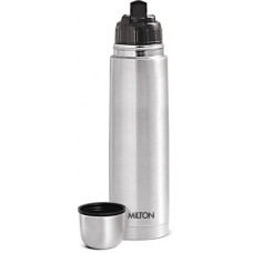 Deals, Discounts & Offers on  - Milton Thermosteel Flip lid 1000 ml Flask 1000 ml Flask(Pack of 1, Silver)