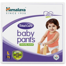Deals, Discounts & Offers on Baby Care - Himalaya Total Care - L(76 Pieces)