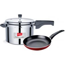 Deals, Discounts & Offers on Cookware - Impex Induction Bottom Cookware Set(Aluminium, PTFE (Non-stick), 3 - Piece)