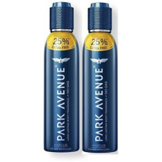 Deals, Discounts & Offers on  - Park Avenue Body Fragrance Marcus Deodorant Spray - For Men(300 ml, Pack of 2)