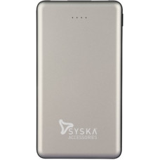 Deals, Discounts & Offers on Power Banks - Syska 10000 mAh Power Bank (Fast Charging, 12 W)(Silver, Lithium Polymer)