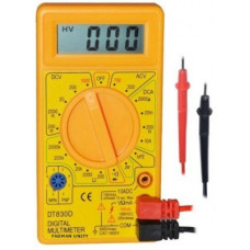 Deals, Discounts & Offers on  - FADMAN Multimeter AC DC Voltage current (DT-830D) Digital Multimeter(Multicolor 2000 Counts)