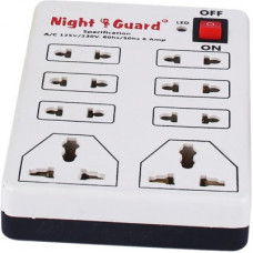 Deals, Discounts & Offers on  - NG Stockist Mode no 1000 8 Socket Extension Boards(White)