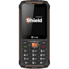 Deals, Discounts & Offers on Mobiles - Easyfone Shield(Black and Orange)