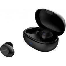Deals, Discounts & Offers on Headphones - PHILIPS TAT1235BK/97 Bluetooth Headset(Black, True Wireless)