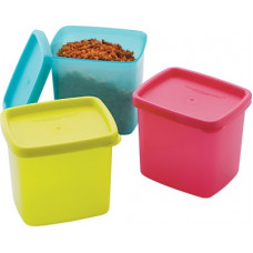 Deals, Discounts & Offers on Kitchen Containers - [Supermart] MASTER COOK - 225 ml Polypropylene Fridge Container(Pack of 3, Multicolor)