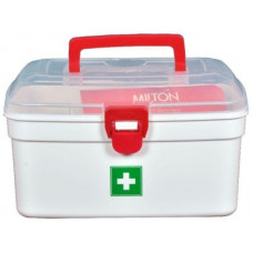 Deals, Discounts & Offers on Kitchen Containers - Milton Milton Medical Box DOYO DT - 2500 ml Plastic Utility Container(White)