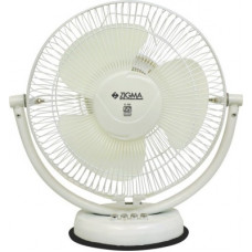 Deals, Discounts & Offers on Home Appliances - Zigma TIKTIK Quiet Portable 300 mm Ultra High Speed 3 Blade Table Fan(IVORY, Pack of 1)