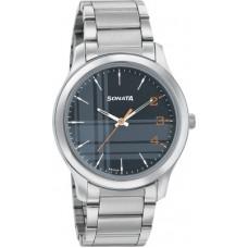 Deals, Discounts & Offers on Watches & Handbag - [Pre Book] Sonata77106SM04 Analog Watch - For Men