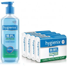 Deals, Discounts & Offers on  - Hygienix Anti-Bacterial Handwash & Germ Protection Soap(2 Items in the set)