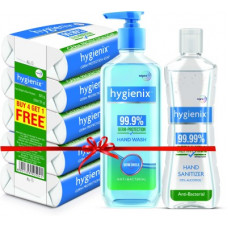 Deals, Discounts & Offers on  - [Pre Book] Hygienix Germ-Protection Combo(3 Items in the set)