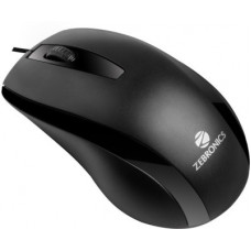 Deals, Discounts & Offers on Laptop Accessories - ZEBRONICS ALEX Wired Optical Mouse(USB 2.0, Black)