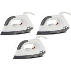 Deals, Discounts & Offers on Irons - USHA EI 1602 ,.pack of 3 1000 W Dry Iron(Multicolor)