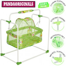 Deals, Discounts & Offers on Baby Care - Pandaoriginals Best Premium Quality PRAM 2003| Comfortable For Baby with Cute Cartoon Superior Quality Pram(Multi, Green)