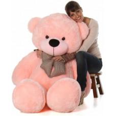 Deals, Discounts & Offers on Toys & Games - Mowgli Toys Stuffed Teddy Bear - 3 Feet Red tuffed Spongy Lovable/Huggable Teddy Bear with Neck Bow