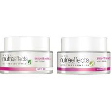 Deals, Discounts & Offers on  - AVON Nutraeffects Brightening Daily Cream SPF 20 + Night Cream (50g)(100 g)