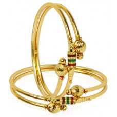 Deals, Discounts & Offers on Bangles - You BellaAlloy Bangle Set(Pack of 2)