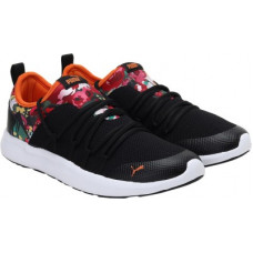 Deals, Discounts & Offers on Women - PUMAFloral IDP Running Shoes For Women(Black)