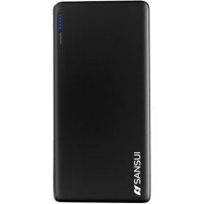 Deals, Discounts & Offers on Power Banks - Sansui 10000 mAh Power Bank (12 W, Fast Charging)(Black, Lithium Polymer)