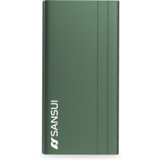 Deals, Discounts & Offers on Power Banks - Sansui 10000 mAh Power Bank (12 W, Fast Charging)(Green, Lithium Polymer)