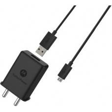Deals, Discounts & Offers on Mobile Accessories - MOTOROLA SJ5991 Qualcomm 3.0 TurboPower 15W 3.0 A 15 W 2.4 A Mobile Charger with Detachable Cable(Black)