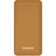 Deals, Discounts & Offers on Power Banks - Philips 10000 mAh Power Bank (18 W, Quick Charge 3.0)(Brown, Lithium Polymer)