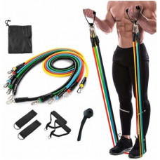 Deals, Discounts & Offers on  - Gorofy Resistance Bands Set Tubes For Fitness Home Gym Exercise Workout Resistance Tube Resistance Band(Multicolor)