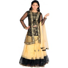 Deals, Discounts & Offers on Kid's Clothing - Flat 51% offer on Girl's Choli and Dupatta Set
