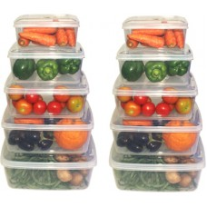 Deals, Discounts & Offers on Home Improvement - Flat 50% offer on Plastic Food Container