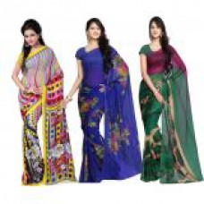 Deals, Discounts & Offers on Women Clothing - Flat 76% offer on Women Saree
