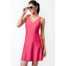 Deals, Discounts & Offers on Women - Penny Aqua V Neck Swimdress  offer