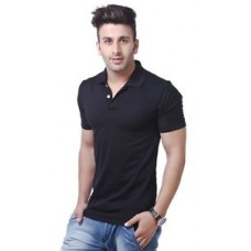 Deals, Discounts & Offers on Men - Best Price on American Wills Black Polo Shirt