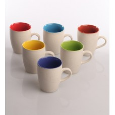 Deals, Discounts & Offers on Home & Kitchen - AION Matte Multicolour Ceramic 200 ML Coffee Cups