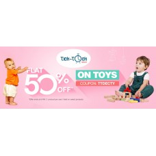 Deals, Discounts & Offers on Baby & Kids - Flat 50% OFF  on Toys